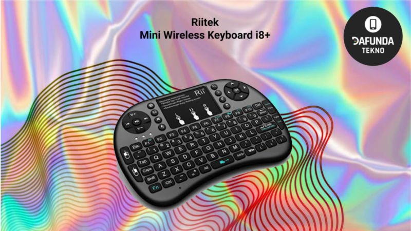Riitek Mini Wireless Keyboard I8+