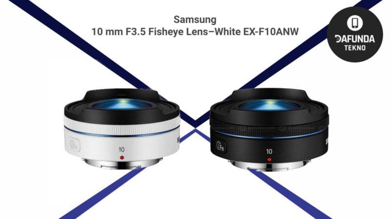 Samsung 10 Mm F3.5 Fisheye Lens – White Ex F10anw