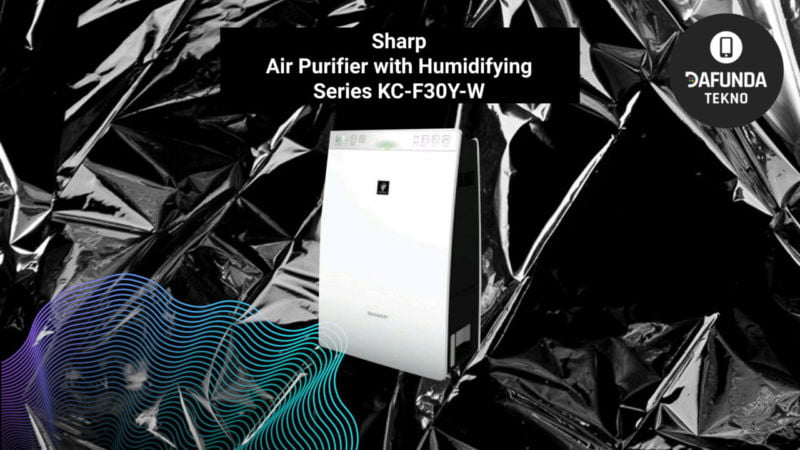 Sharp Air Purifier With Humidifying Series Kc F30y W