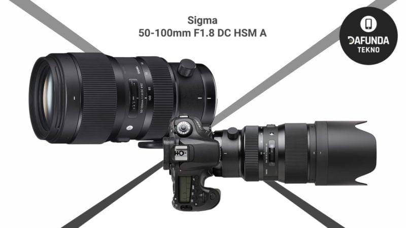 Sigma 50 100mm F1.8 Dc Hsm A