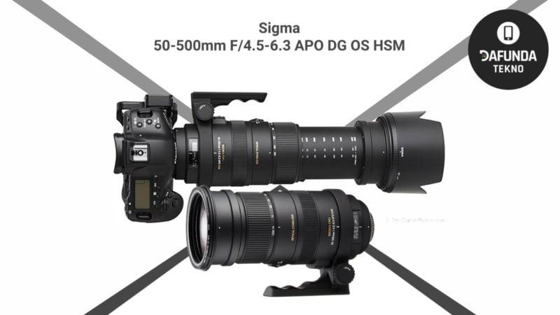 Lensa Tele Terbaik Sigma 50 500mm F 4.5 6.3 Apo Dg Os Hsm