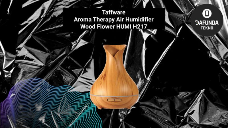 Taffware Aroma Therapy Air Humidifier Wood Flower Humi H217