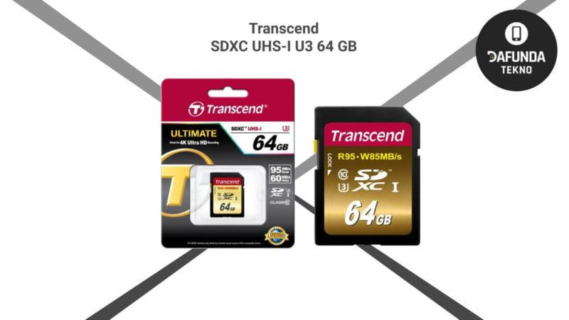 Transcend Sdxc Uhs I U3 64 Gb