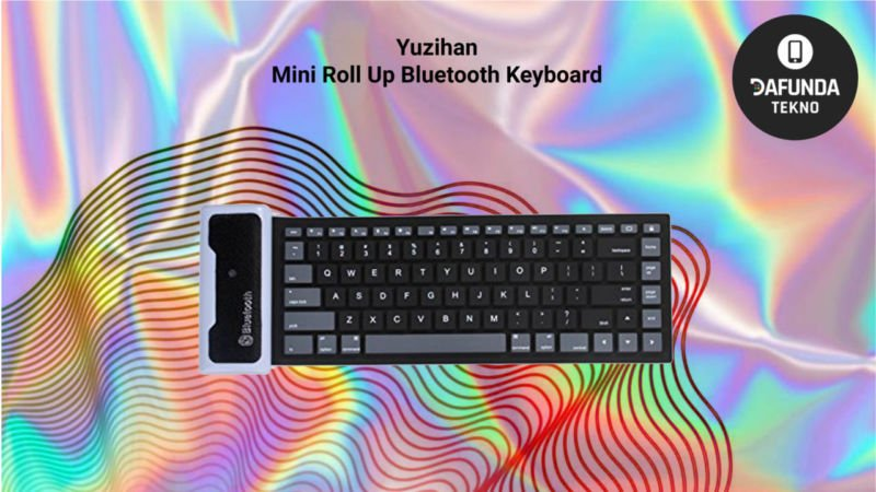 Yuzihan Mini Roll Up Bluetooth Keyboard