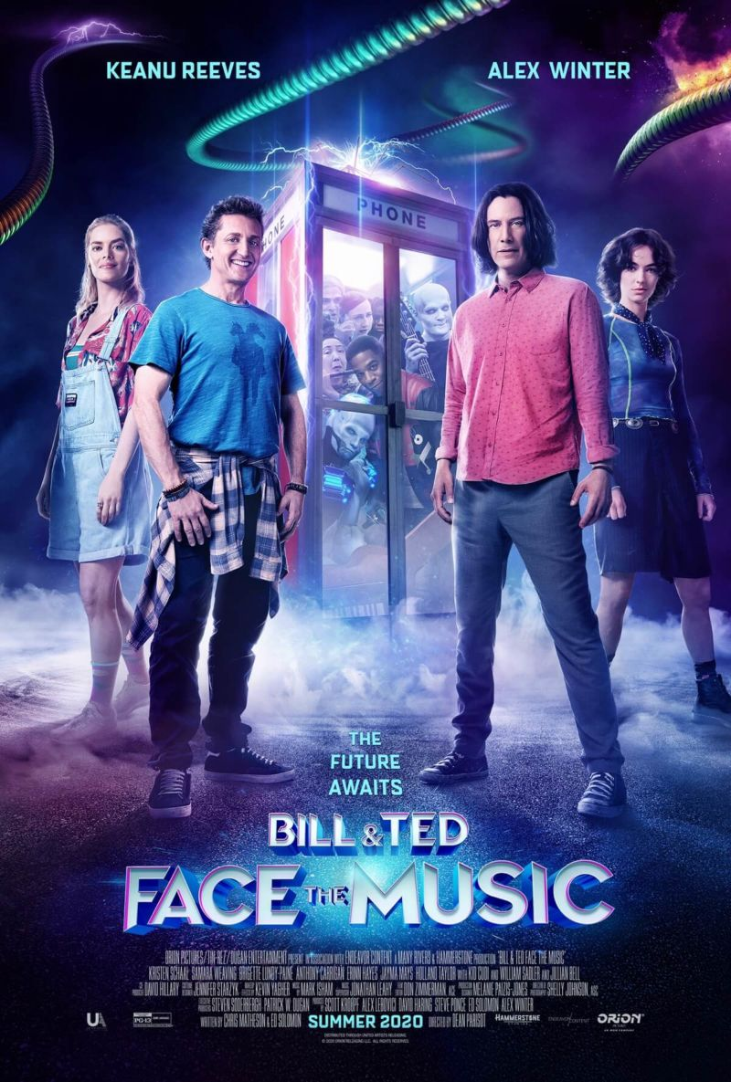 Bill Ted Face The Music Poster
