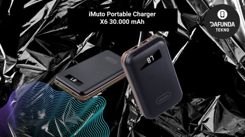 Power Bank Terbaik Imuto Portable Charger X6 30.000 Mah