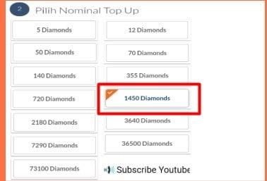 Pilih Diamond Codashop Pro