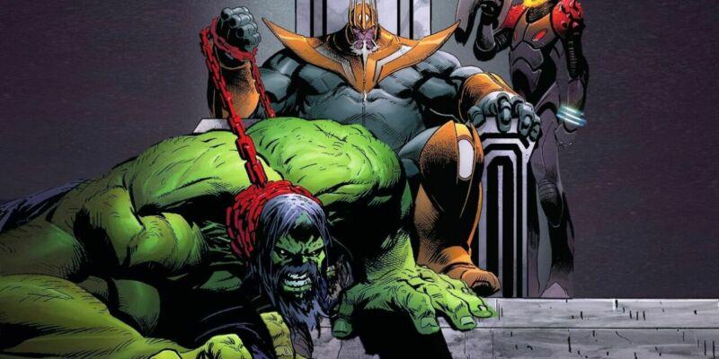 Hulk Peliharaan Thanos
