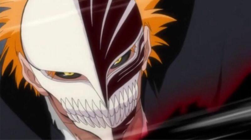 Karakter Anime Memakai Topeng Ichigo Kurosaki