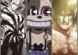 Karakter Anime Manusia Yang Berubah Menjadi Monster