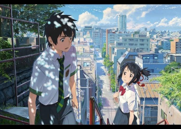 Anime Perjalanan Waktu Kimi No Na Wa