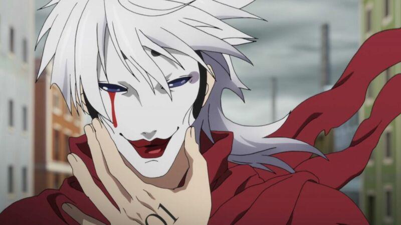 Karakter Anime Memakai Topeng Licht Bach