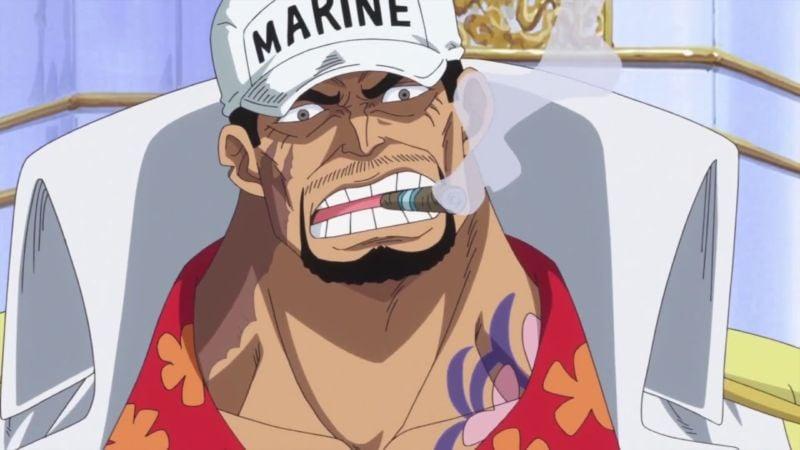 Anggota angkatan laut Sakazuki