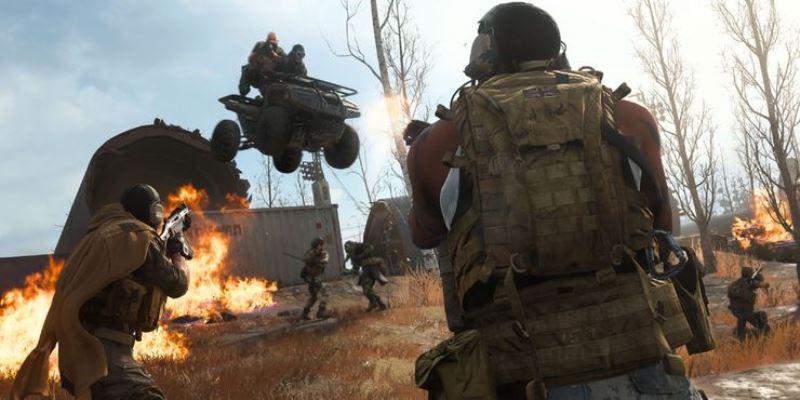 Call Of Duty Modern Warfare Warzone Vehicle Jump