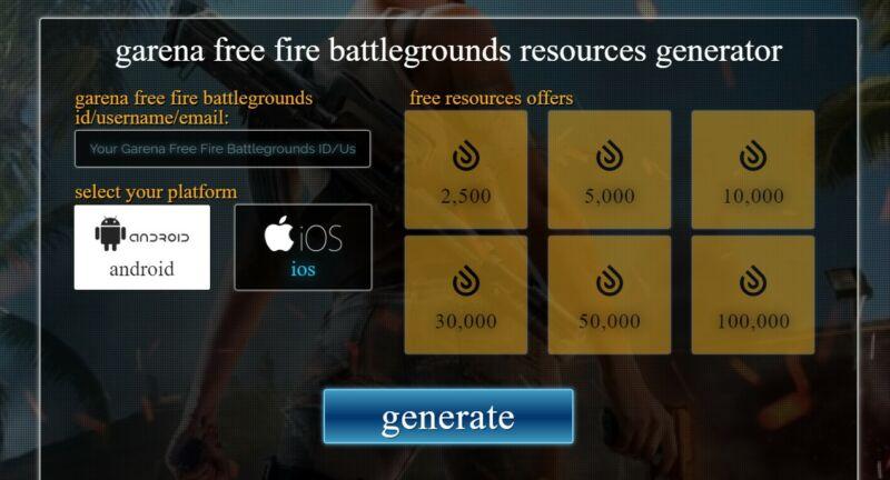 Generator Free Fire Xyz