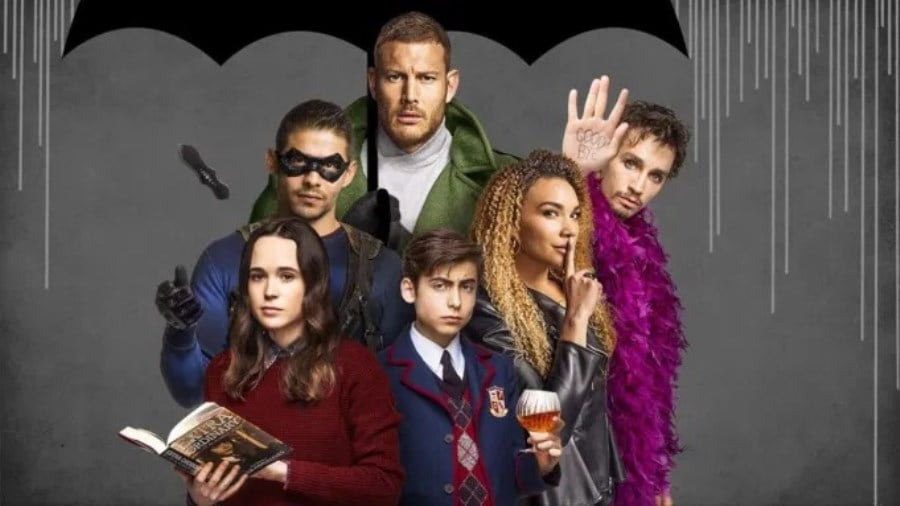 The Umbrella Academy Netflix Gerrard Way