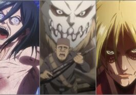9 Titan Shifter Dalam Series Attack On Titan