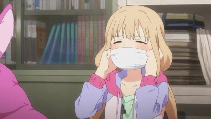 Karakter anime pemalas Anzu Futaba