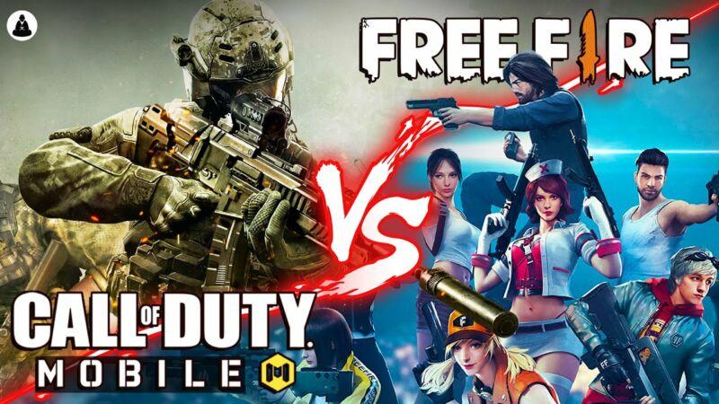 Free Fire Dan Call Of Duty 1