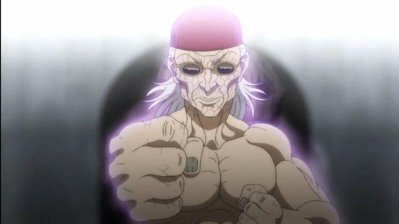 Karakter anime tua yang masih kuat Kaku Kaioh