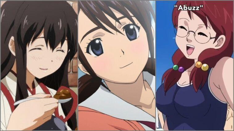 Karakter Anime Hobi Makan