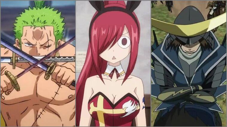 Karakter Anime Yang Memakai Pedang Lebih Dari Satu