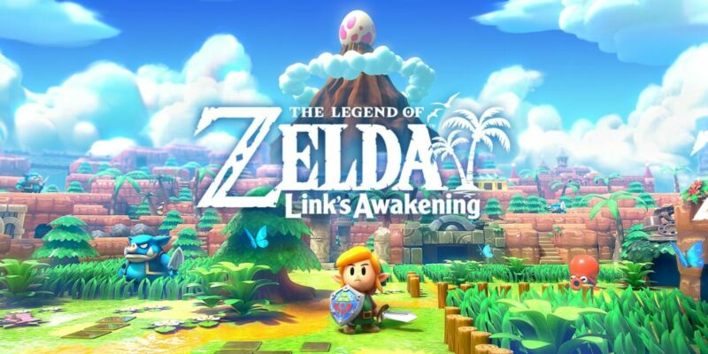 Legends Of Zelda Links Of Awakening