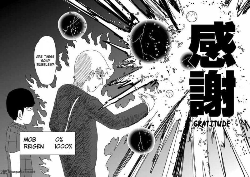 Rekomendasi manga komedi Mob Psycho 100