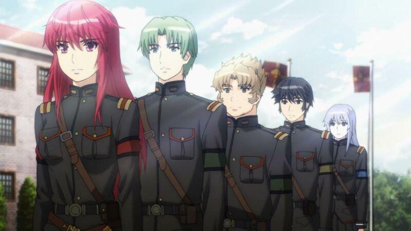 Rekomendasi anime militer Nejimaki Seirei Senki