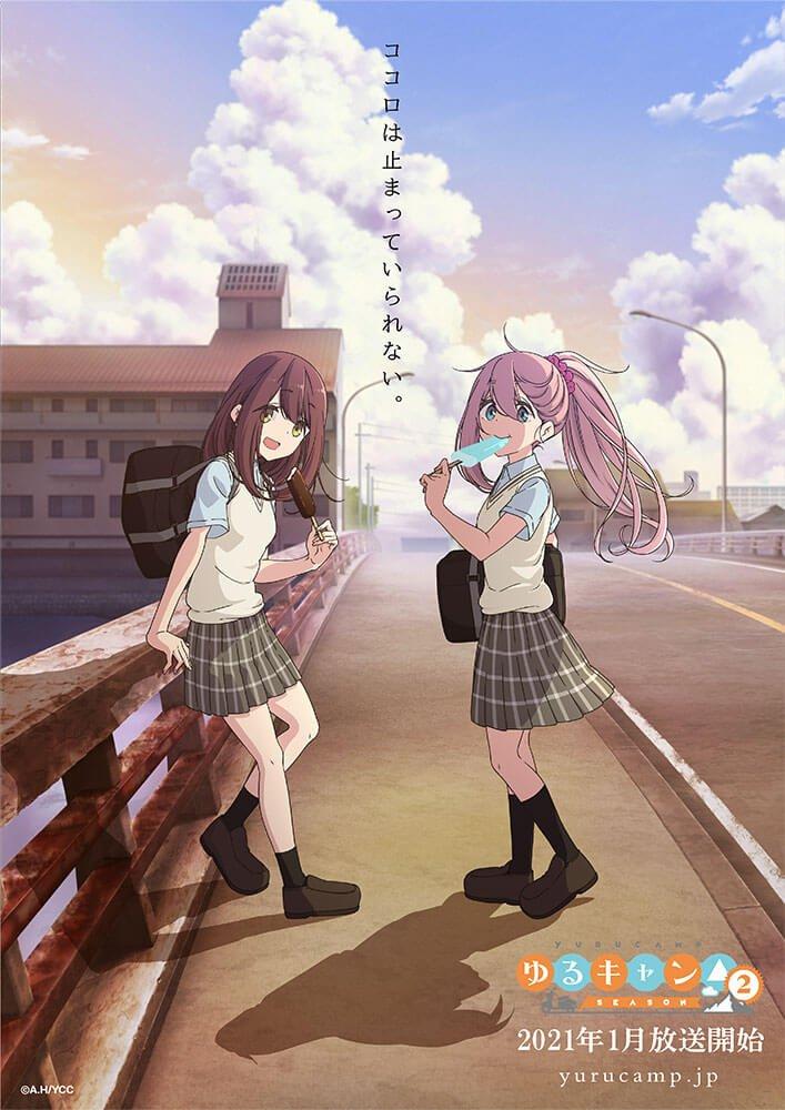 Season 2 Anime Yuru Camp Ungkap Trailer Filmnya – Dafunda.com