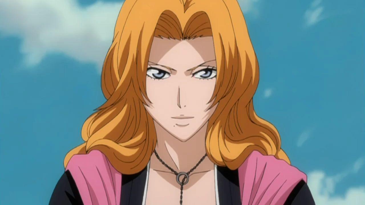 Karakter anime hobi mabuk Rangiku Matsumoto