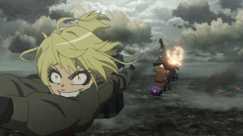 Rekomendasi anime militer Youjo Senki