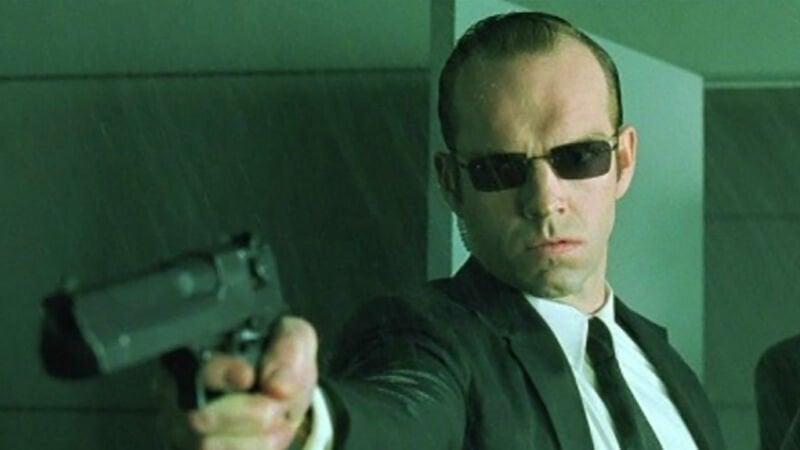 Agent Smith The Matrix 4