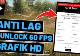 Cara Menggunakan GFX Tool PUBG Mobile