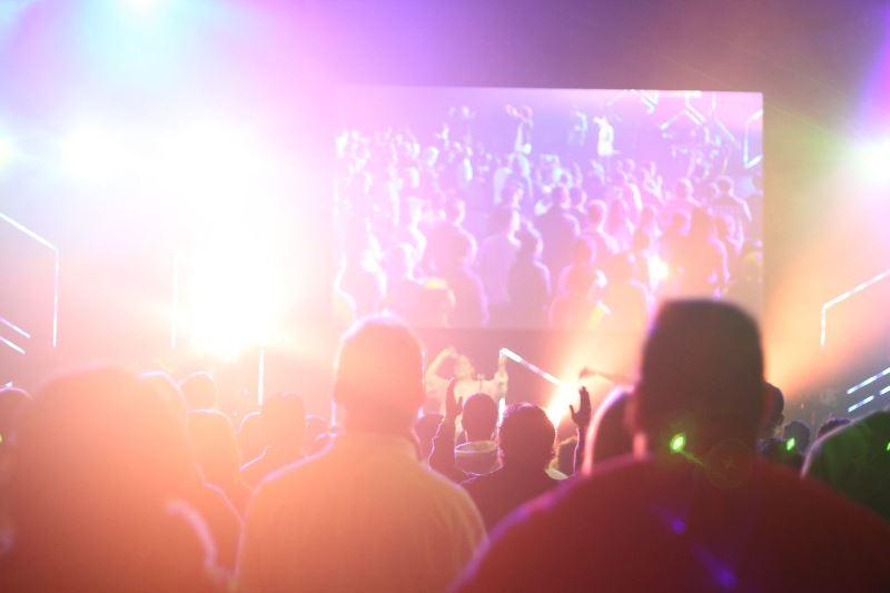 Event Marketing Stock Photo