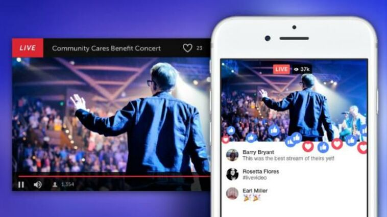 Facebook live musik