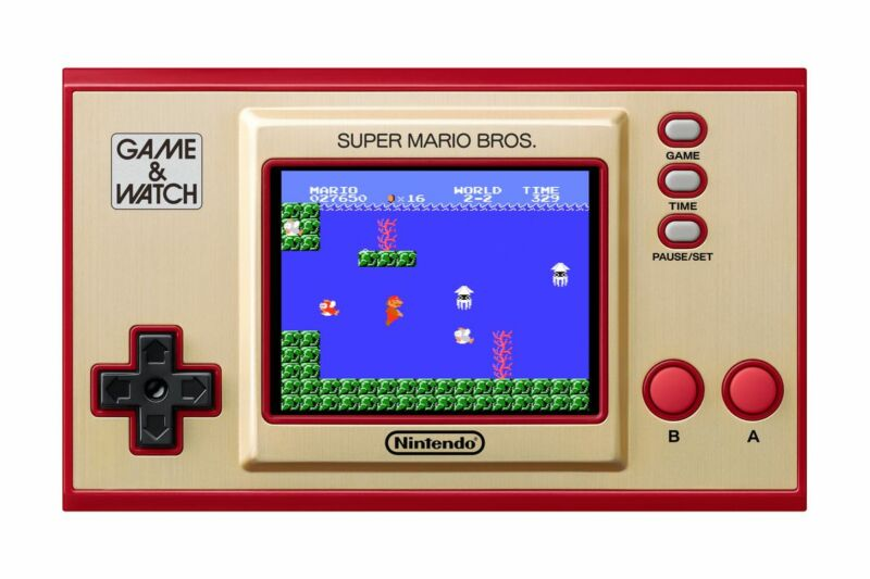 Game Watch Mario Bros Polygon