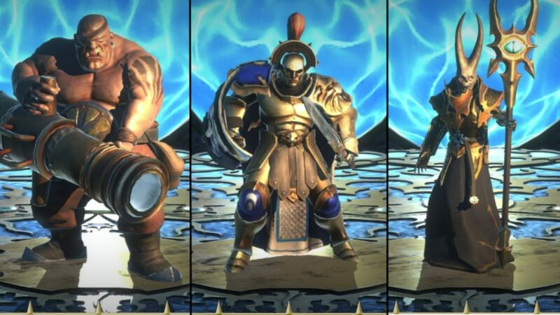 Karakter Game Warhammer Quest Silver Tower