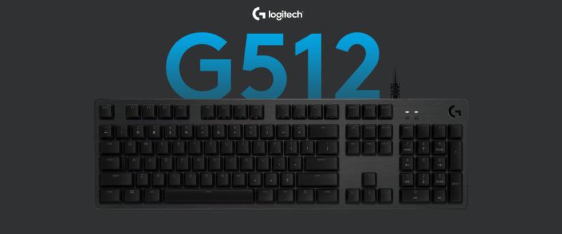 Keyboard Youtuber Gaming Logitech G512