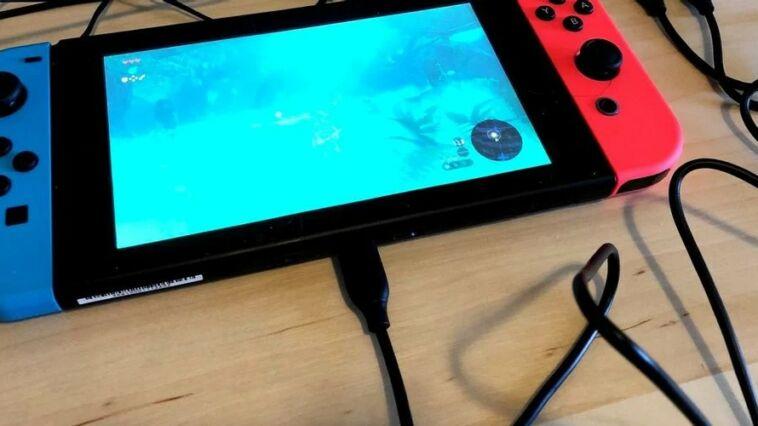 Nintendo Switch Baterai