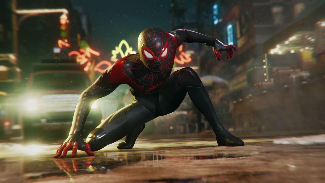 Ukruan Spider Man Miles Morales Capai 106 Gb
