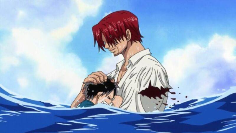 Karakter anime buntung Akagami Shanks