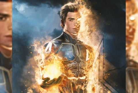 Andrew Garfield Human Torch