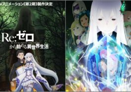 Anime Rezero Season 2 Cour