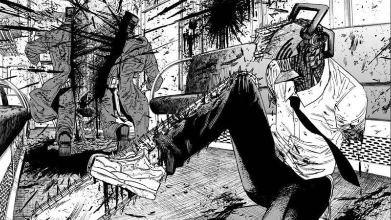Rekomendasi Manga Action Chainsaw Man