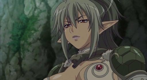 Karakter anime elf Echidna