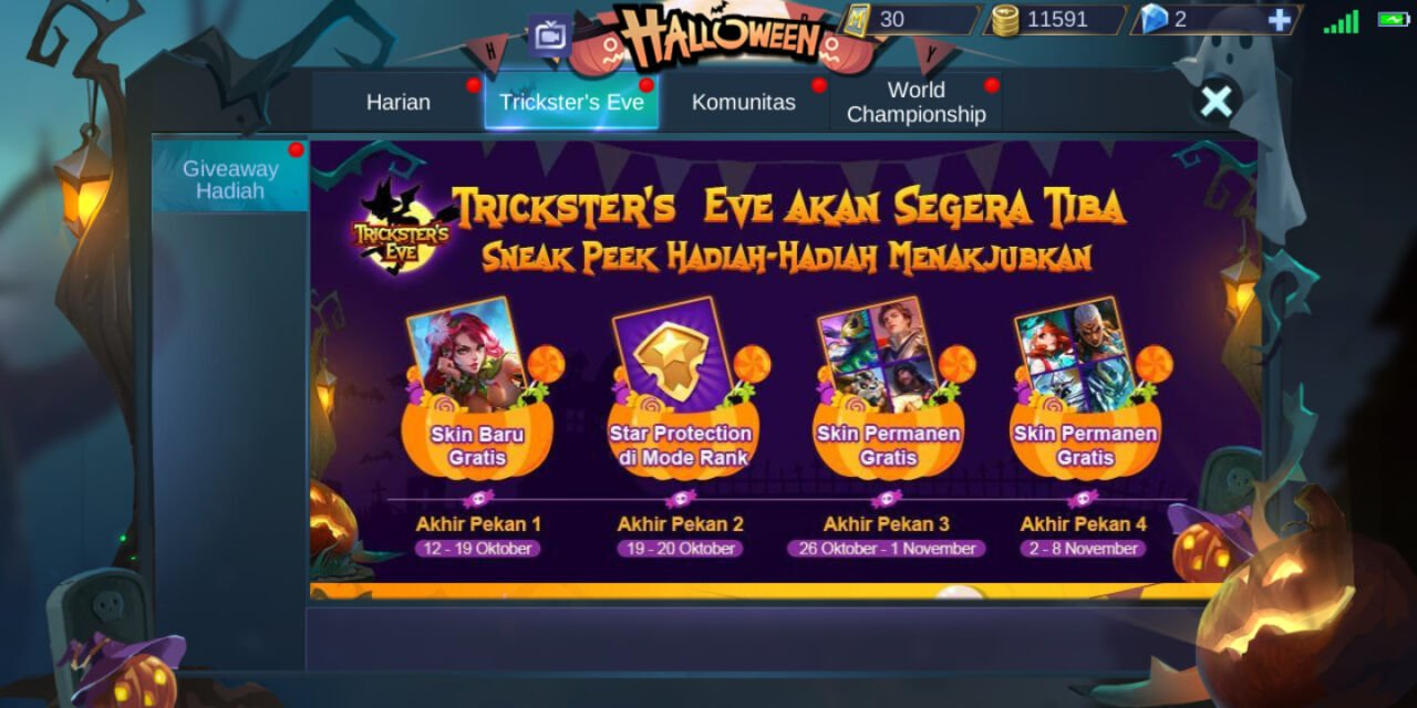 Event Halloween Mobile Legend