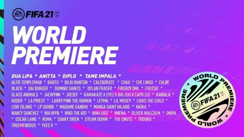 Fifa 21 World Premiere 1