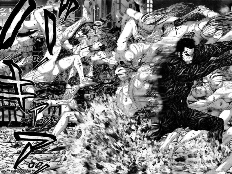 Rekomendasi Manga Action Gantz