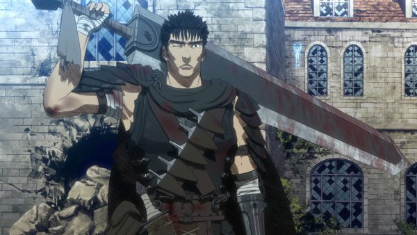 karakter anime satu tangan Guts